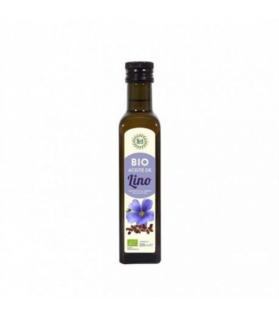 Aceite lino SOL NATURAL 250 ml BIO
