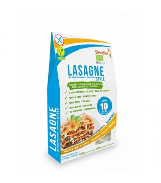 Pasta konjac lasaña FINESTRA 400 gr
