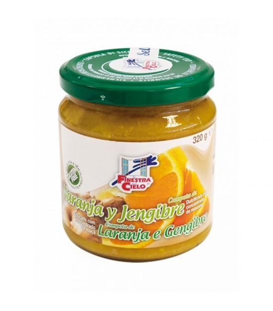 Mermelada naranja jengibre FINESTRA 320 gr BIO