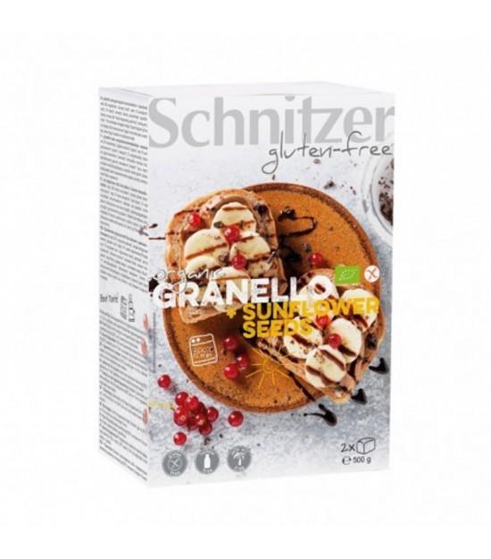 Pan maiz pipas girasol sin gluten SCHNITZER 2x250 gr BIO