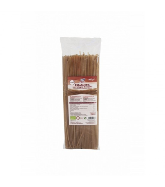Espagueti espelta semi integral FINESTRA 500 gr