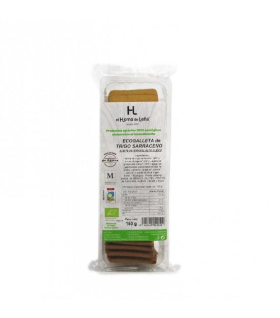 Galletas integral trigo sarraceno HORNO DE LEÑA 150 gr ECO