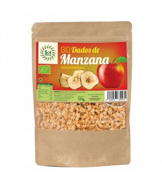 Dados manzana SOL NATURAL 125 gr BIO