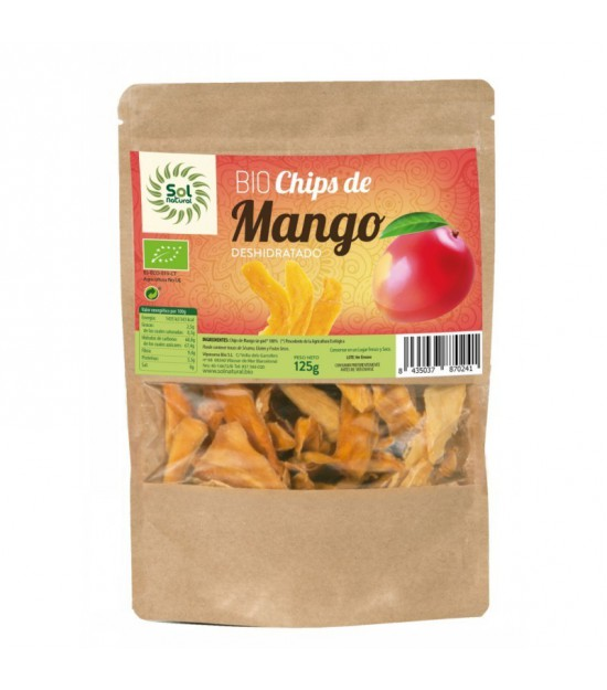 Chips mango SOL NATURAL 125 gr BIO