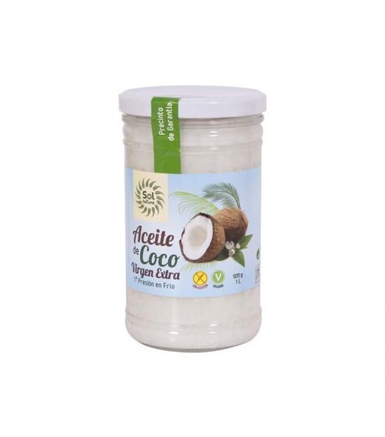 Aceite coco SOL NATURAL 1 L BIO