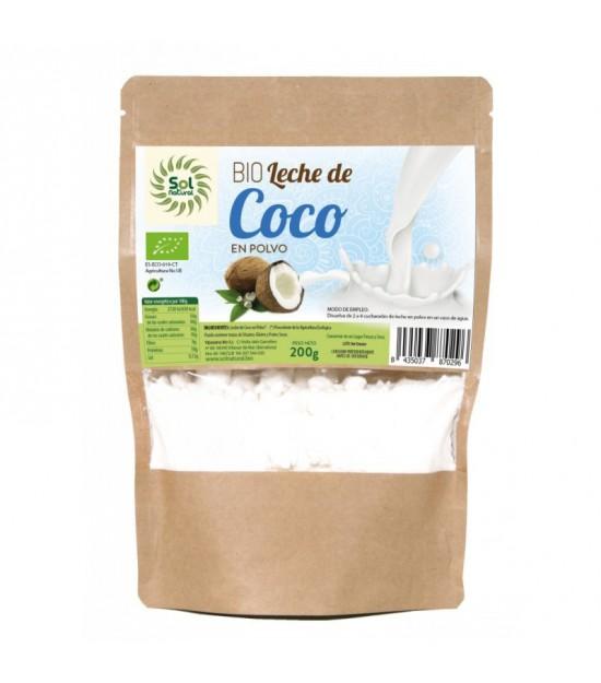 Leche coco en polvo SOL NATURAL 200 gr BIO