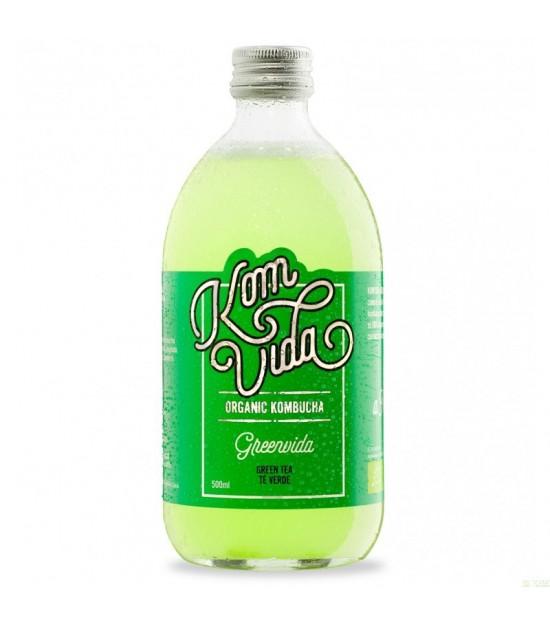 Kombucha te verde KOMVIDA 500 ml BIO
