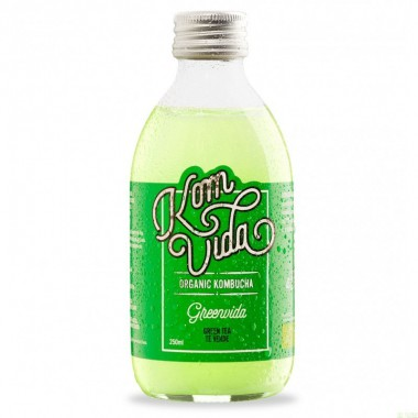 Kombucha te verde KOMVIDA 250 ml BIO