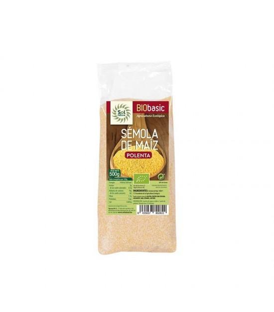 Semola maiz polenta SOL NATURAL 500 gr BIO