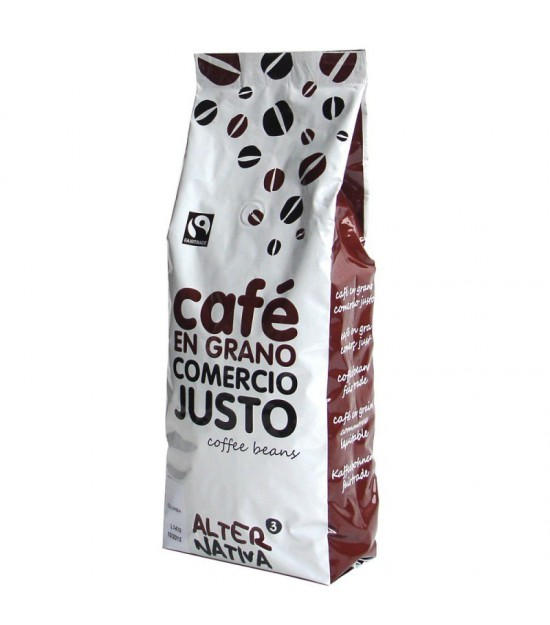 Cafe arabica grano ALTERNATIVA 3 (1 kg) BIO