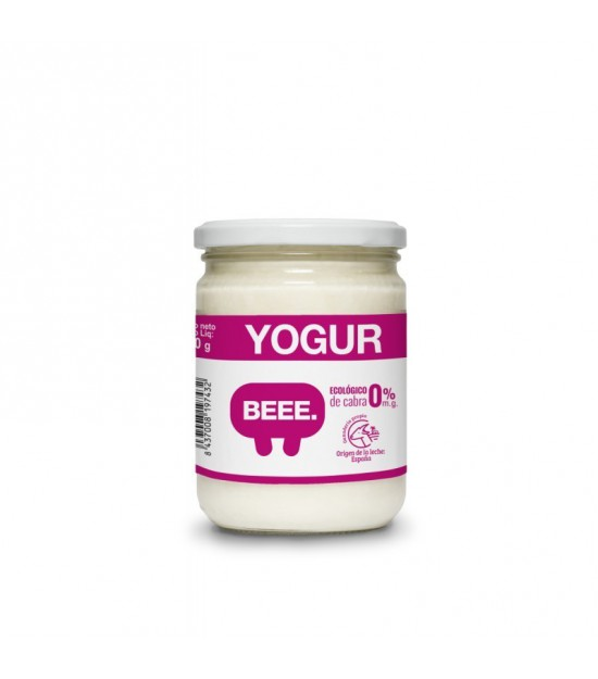 Yogur cabra natural desnatado 0% BEE 420 gr
