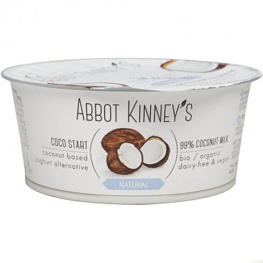 Yogur coco natural ABBOT KINNEY'S 125 gr