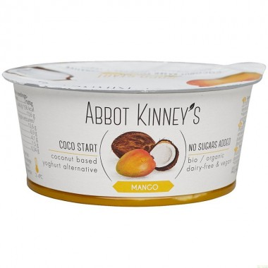 Yogur coco mango ABBOT KINNEY'S 125 gr