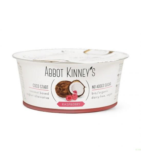 Yogur coco frambuesa ABBOT KINNEY'S 125 gr