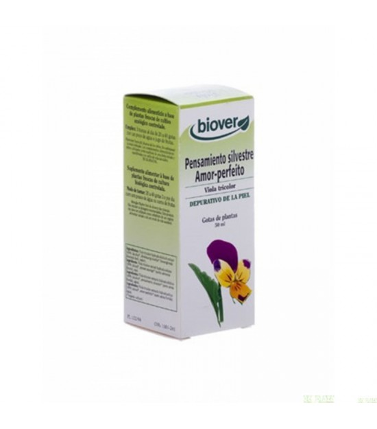 Viola tricolor BIOVER 50 ml BIO
