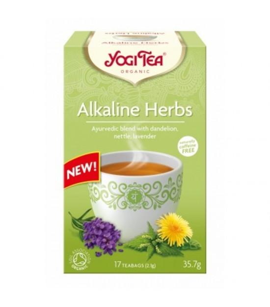 Yogi tea alkaline herbs 17 bolsas BIO
