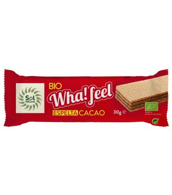 Whafeel espelta cacao SOL NATURAL 30 gr BIO