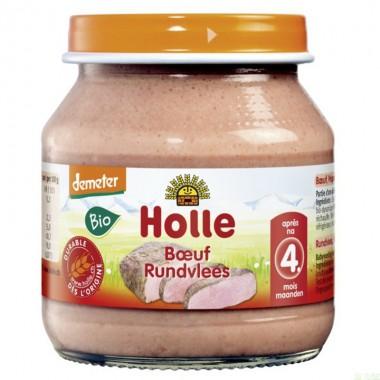 Potito ternera HOLLE 125 gr DEMETER ECO