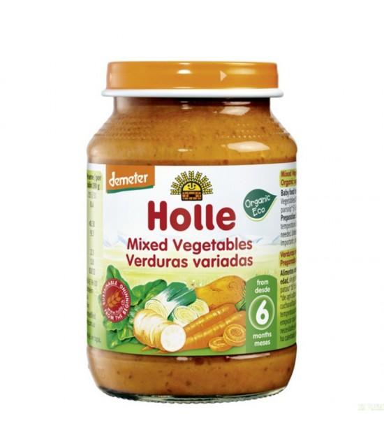 Potito verduras variadas HOLLE 190 gr DEMETER ECO