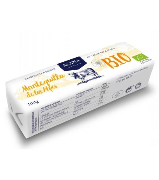 Mantequilla sin sal ASANA 100 gr BIO