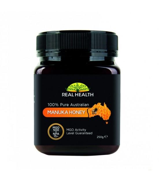 Miel manuka MGO500 REAL HEALTH 250 ml