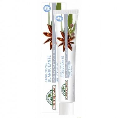Dentifrico blanqueante CORPORE SANO 75 ml