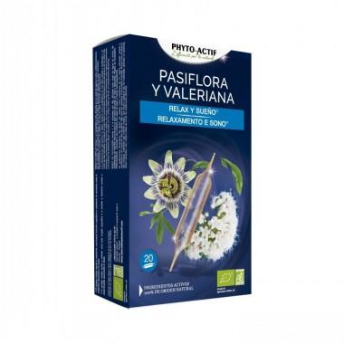 Pasiflora valeriana PHITOACTIF 20 ampollas BIO