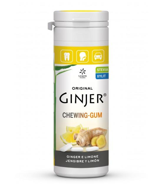 Ginjer chicles jengibre limon LEMON PHARMA 30 gr