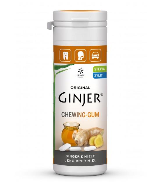 Ginjer chicles jengibre miel LEMON PHARMA 30 gr
