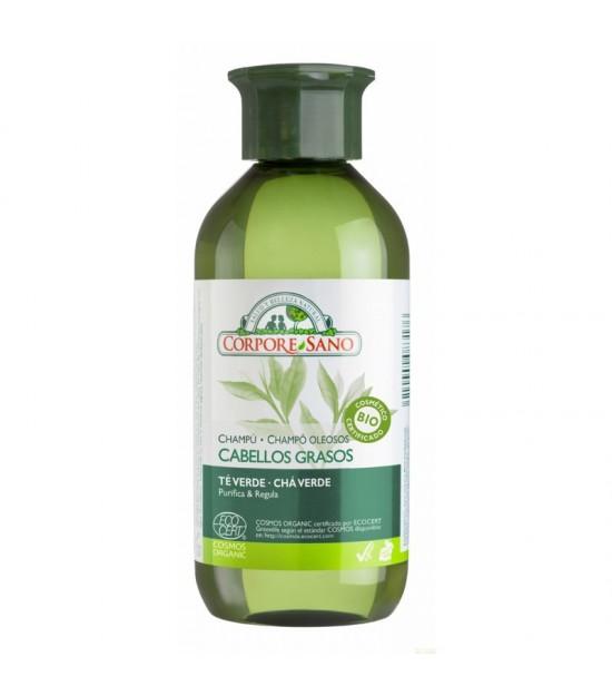 Champu cabello graso CORPORE SANO 300 ml COSMOS BIO