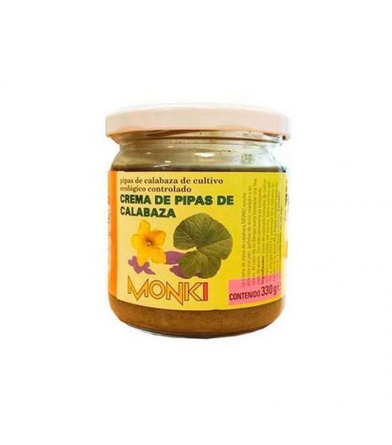 Crema pipas calabaza MONKI 330 gr