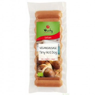 Mini salchicha frankfurts seitan WHEATY 200 gr BIO