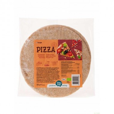 Base pizza (2 Uds.) TERRASANA 300 gr BIO