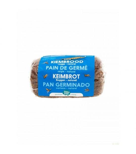 Pan germinado centeno - natural TERRASANA 400 gr BIO