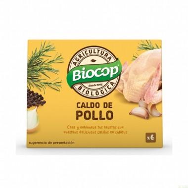 Cubitos pollo BIOCOP 6x11 gr BIO
