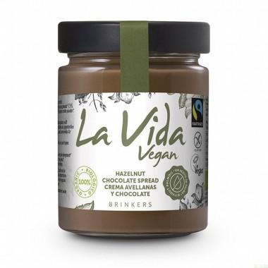 Crema chocolate avellana LA VIDA VE 270 gr BIO