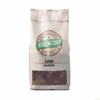 Lino marron BIOCOP 500 gr BIO