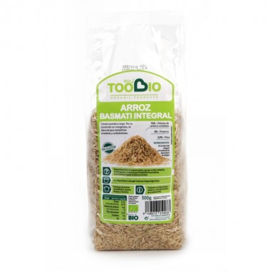 Arroz basmati integral TOO BIO 500 gr BIO