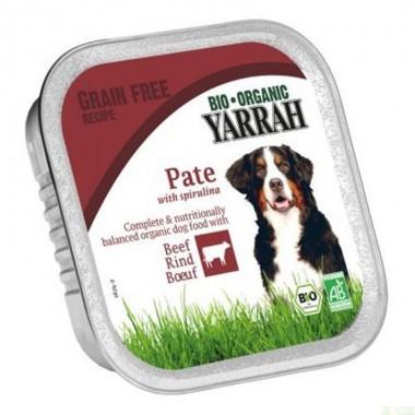 Tarrina perros ternera YARRAH 150 gr
