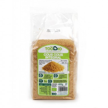 Cuscus integral TOO BIO 400 gr BIO