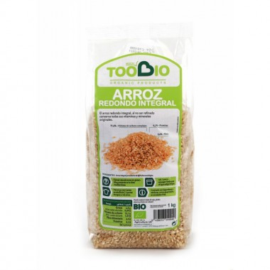 Arroz redondo integral TOO BIO 1 kg BIO