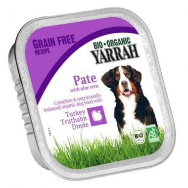 Tarrina perros pollo pavo YARRAH 150 gr