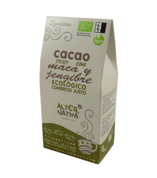 Cacao maca jengibre ALTERNATIVA 3 (125 gr) BIO