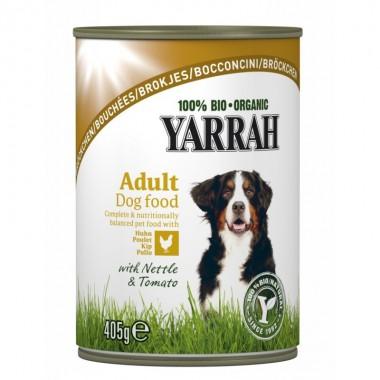 Lata perros pate pollo YARRAH 400 gr
