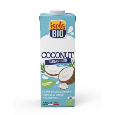 Bebida coco calcio sin azucar ISOLA 1 L BIO
