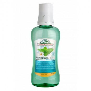 Elixir bucal aliento fresco CORPORE SANO 250 ml COSMOS BIO