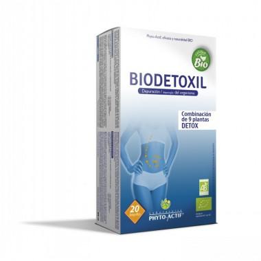 OFERTA Biodetoxil PHITOACTIF 20 ampollas BIO PVP 16,45€