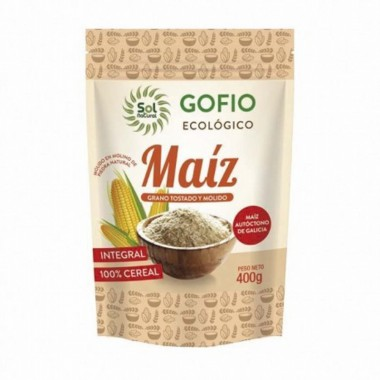 Gofio maiz integral SOL NATURAL 400 gr BIO
