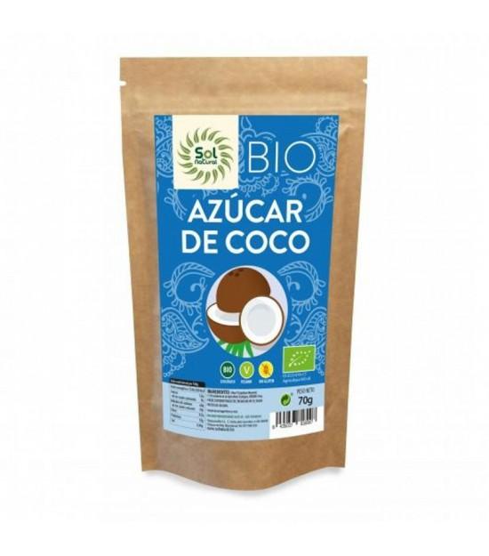 Azucar coco SOL NATURAL 250 gr BIO