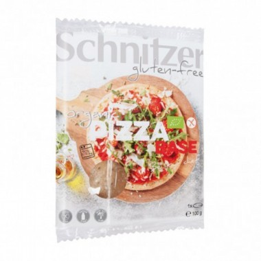 Base pizza sin gluten SCHNITZER 100 gr BIO